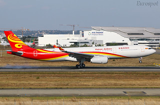 F-WWKV Airbus A330 Hainan Airlines