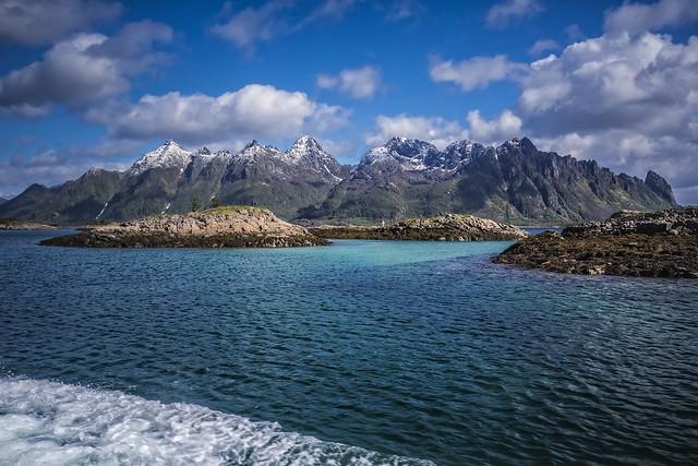 heading for Trollfjorden