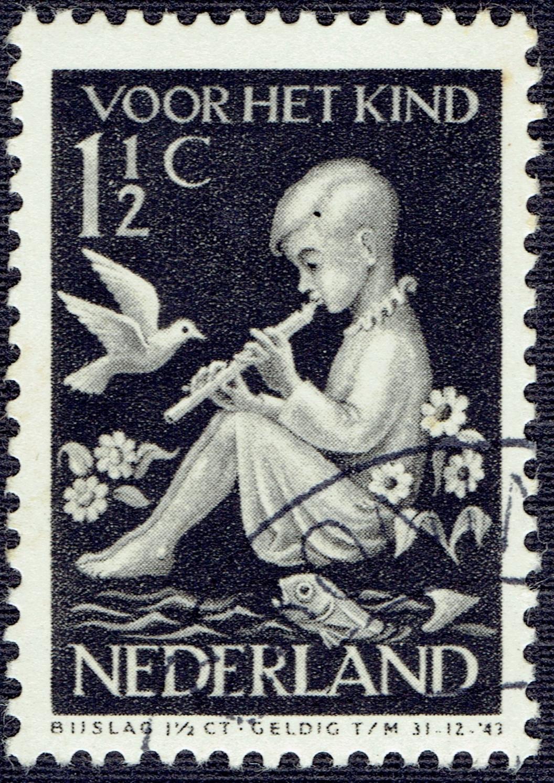 Netherlands - Scott #B108 (1938)