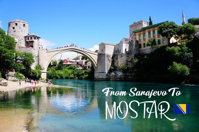 2018 Bosnia Mostar Stari Most 1-1