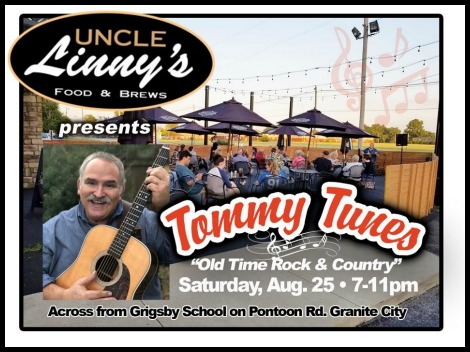 Tommy Tunes 8-25-18
