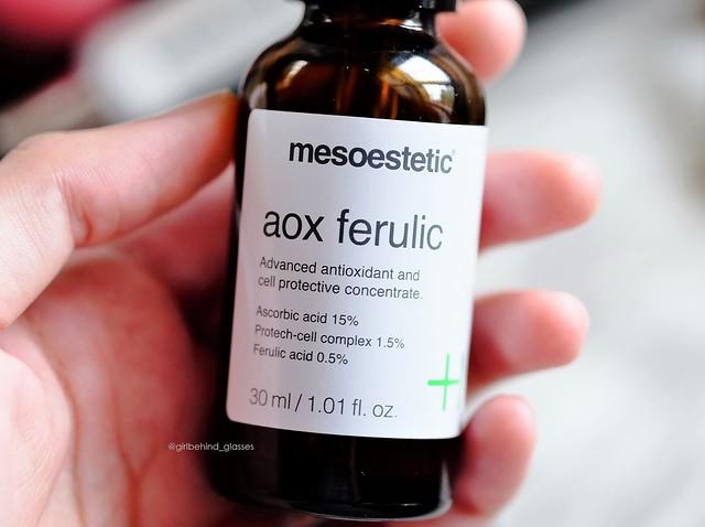 Mesoestetic AOX Ferulic2