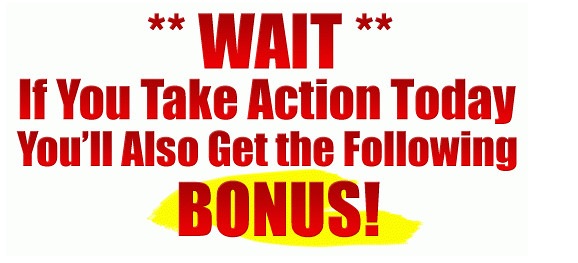 TakeAction & Grab My BONUSES NOW!!!