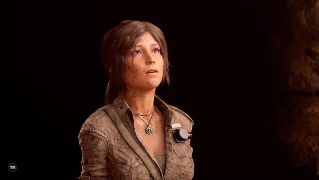 Shadow of the Tomb Raider - Lara fea