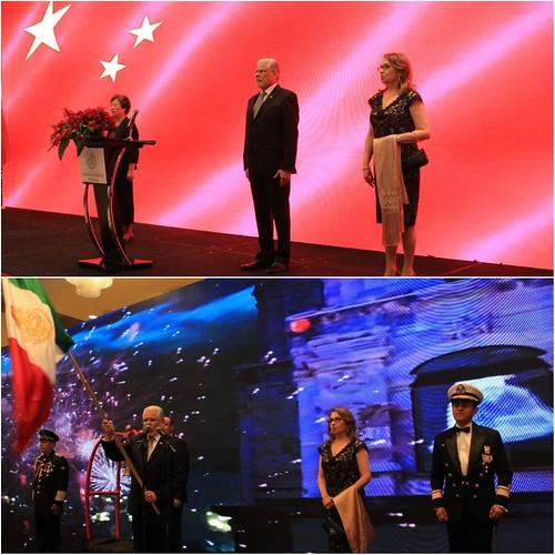 Embajada de México en China celebra 208º Aniversario del Inicio de la Gesta de la Independencia de