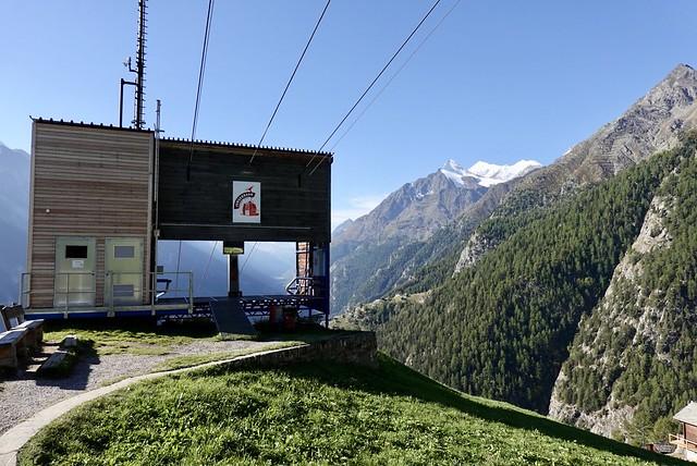 Top of the gondola