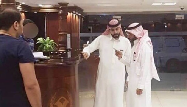 4655 Saudi authorities arrested an Egyptian man and Saudi Woman for having breakfast together 01