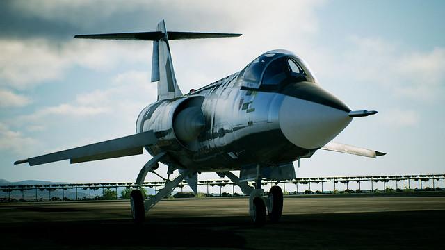エースコンバット7 プレイアブル機体「F-104C -Avril-」