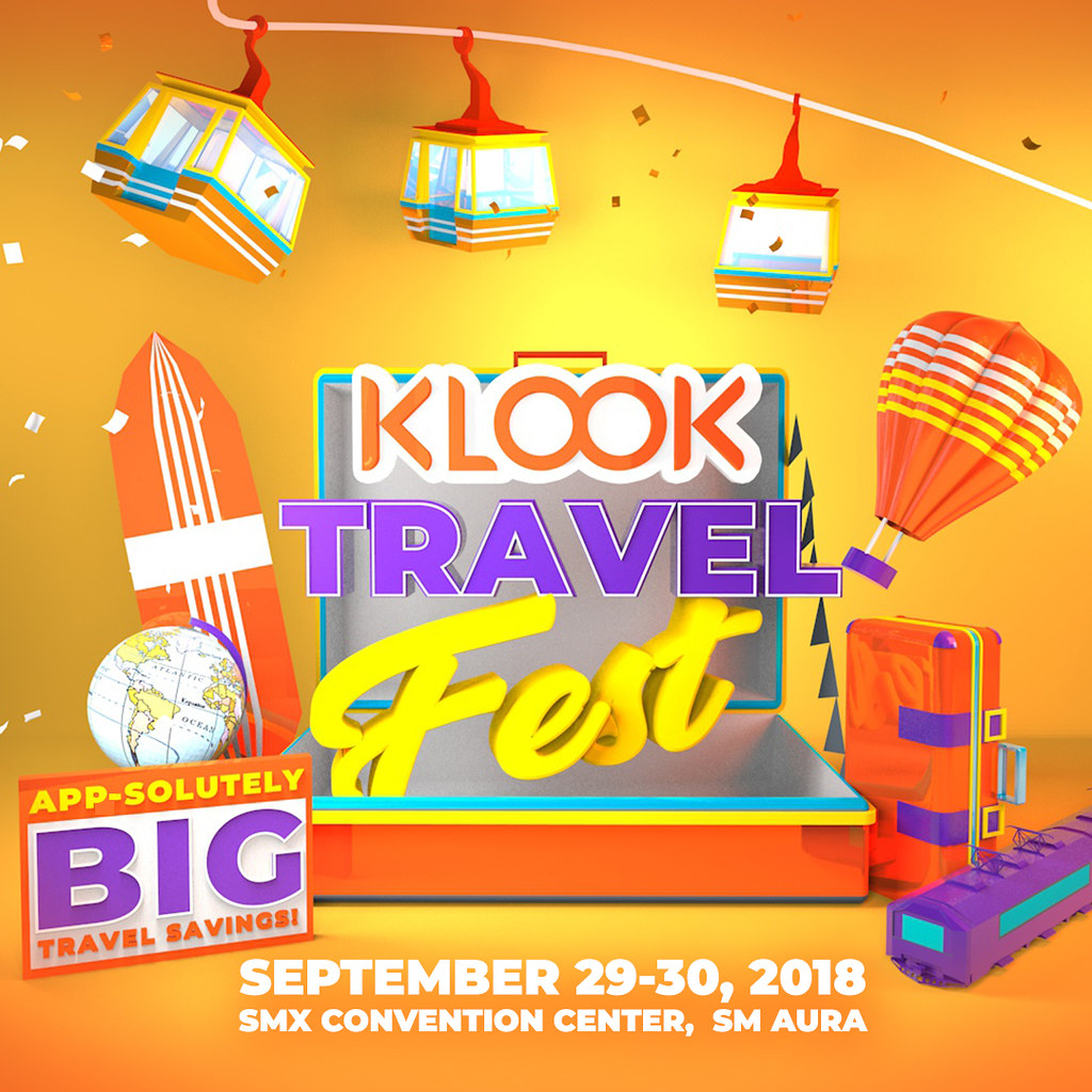 DIY or Packaged Tours + Klook Travel Fest 2018