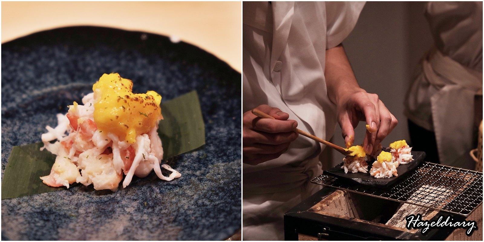 Sushi Chiharu by Tamaya Dining-Edomae Sushi-Tarabagani-Torched Crab