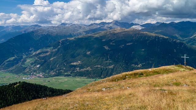 Gipfelkreuz am Steinmandl Stoanmandl, Panasonic DMC-GX1, LUMIX G VARIO PZ 14-42/F3.5-5.6