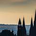 Spires in Edinburgh