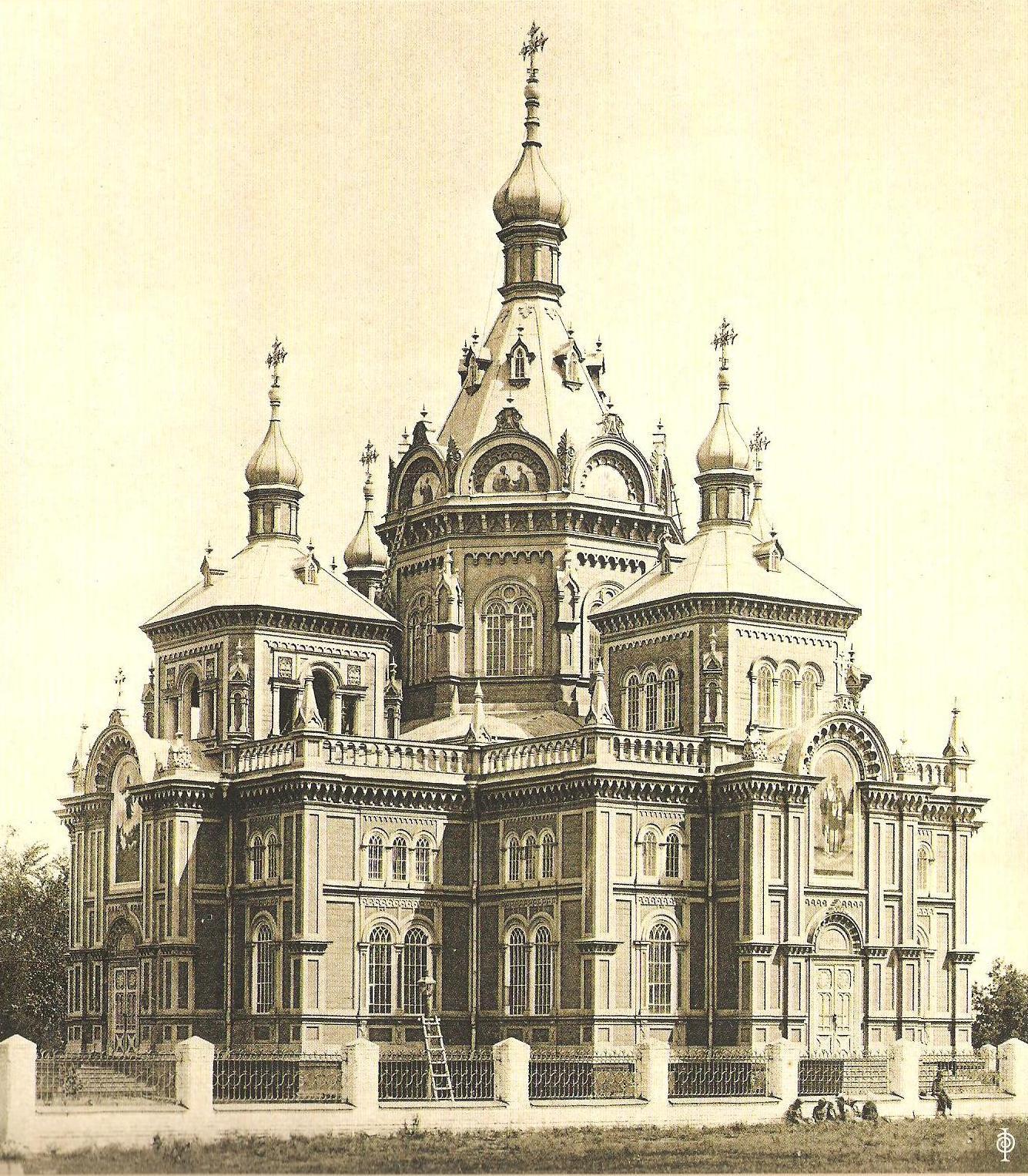 Церковь Преображения Господня. 1895