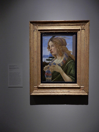 DSCN2715 - Idealized Portrait of a Lady, Botticelli, The Pre-Raphaelites & the Old Masters