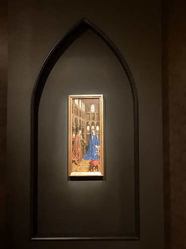 DSCN2705 - The Annunciation, Jan van Eyck, The  Pre-Raphaelites & the Old Masters
