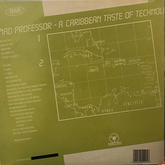MAD PROFESSOR:A CARIBBEAN TASTE OF TECHNOLOGY(JACKET B)