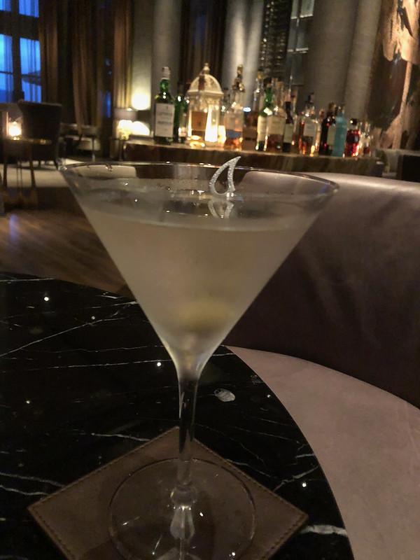 Dirty Martini - St Regis Bar - St Regis Bar - St Regis Langkawi