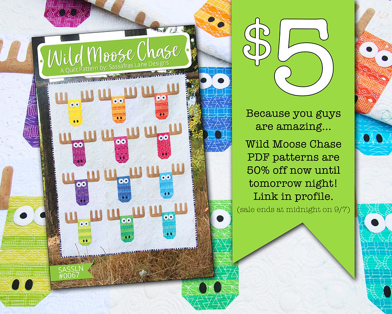 Wild Moose Chase Sale
