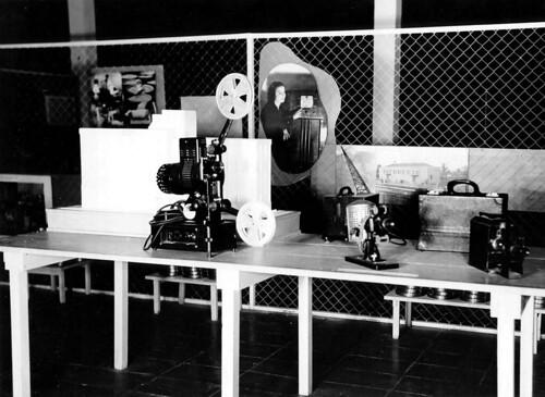 Equipamentos cinematográficos na Exposição Nacional do Estado Novo 2