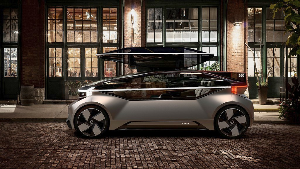 Volvo 360c роботските автомобили 4