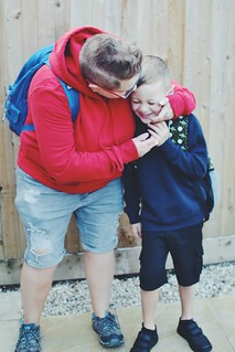 back to school hug | by My Two Mums
