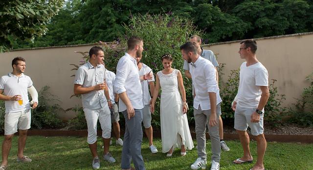 les 10 ans de mariage de Julie et Sébastien