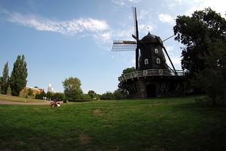 Slottstradgarden windmill