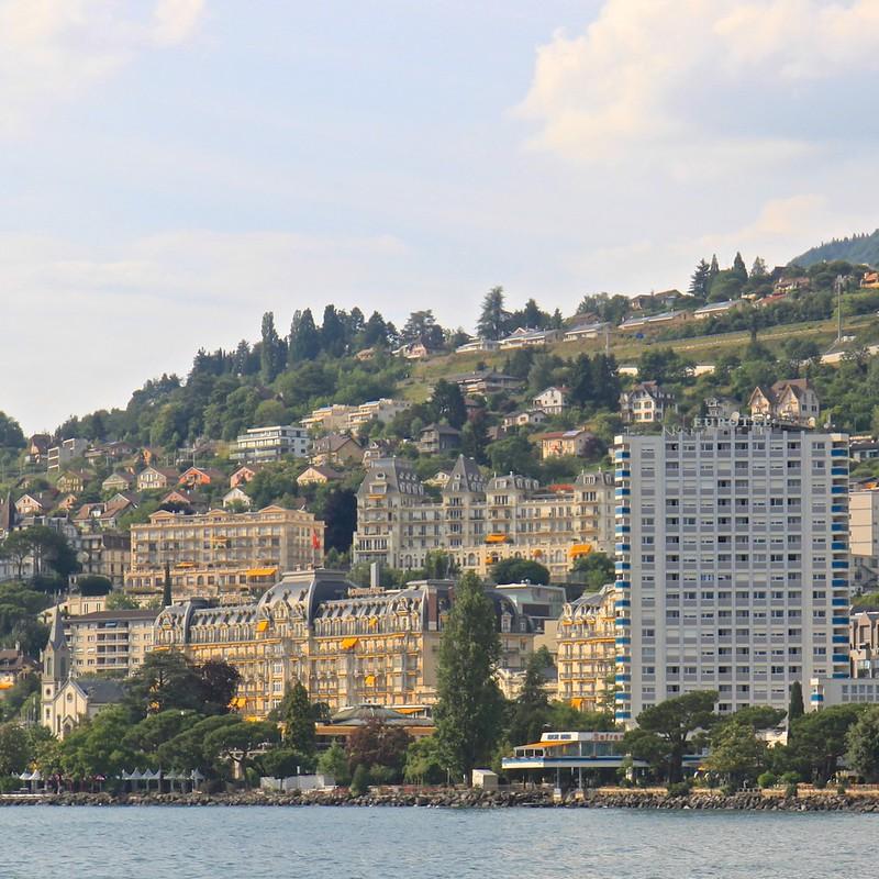 Montreux ja Sveitsin Riviera