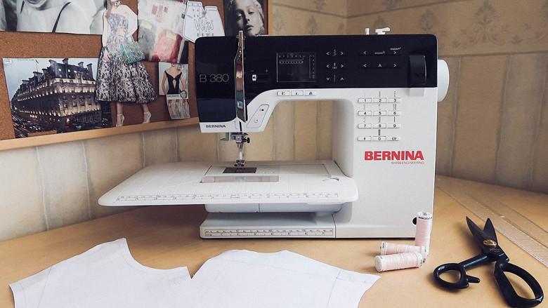 Bernina B380 review обзор Bernina B380