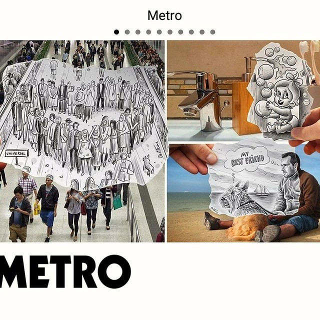 My latest @pencilvscamera works featured today in @metro.co.uk  https://metro.co.uk/2018/08/19/artist-creates-quirky-snapshot-pencil-sketches-within-his-travel-pictures-7856453  #art #pencilvscamera #benheineart #drawing #photographie #photography #dessin