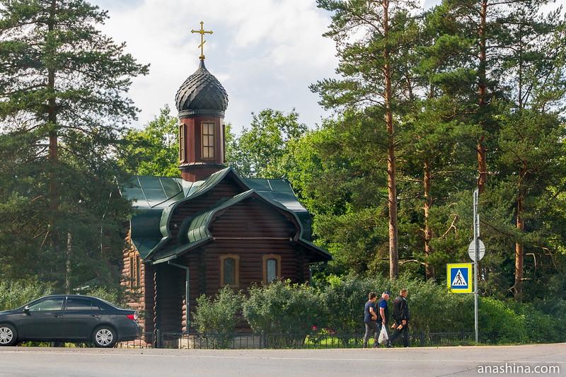 Троицкая церковь в Мельниково, Карельский перешеек