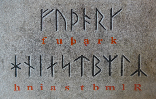 Viking runes decoded at the museum in Silkeborg, Denmark