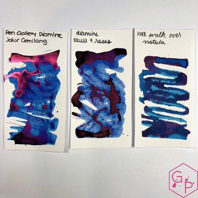 Pen Gallery Diamine Jalur Gemilang Ink Review 6