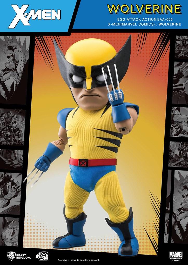 野獸國 Egg Attack Action 系列【X戰警 金鋼狼】X-MEN (Marvel Comics): Wolverine EAA-066  一般版 / 特別版