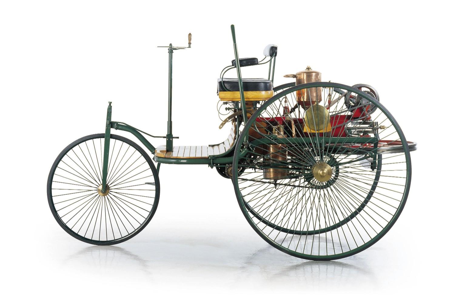 Karl Benz' Patent-Motorwagen Number 1, 1885
