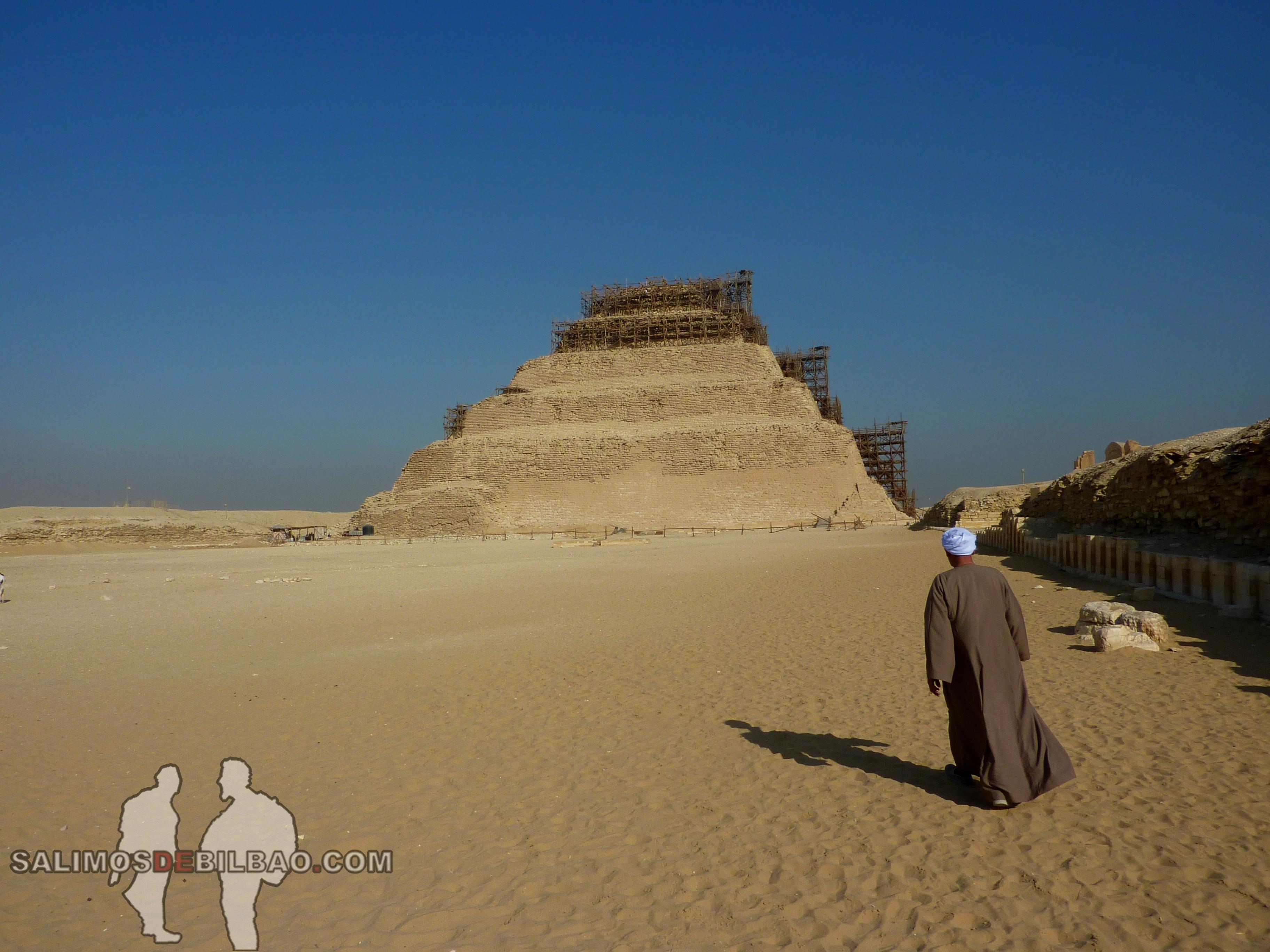 0304. Pirámide escalonada de Zoser, Saqqara
