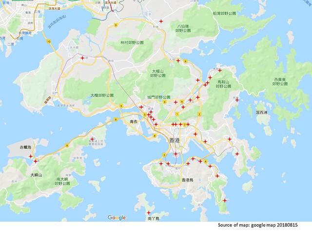 Storm damage_location map