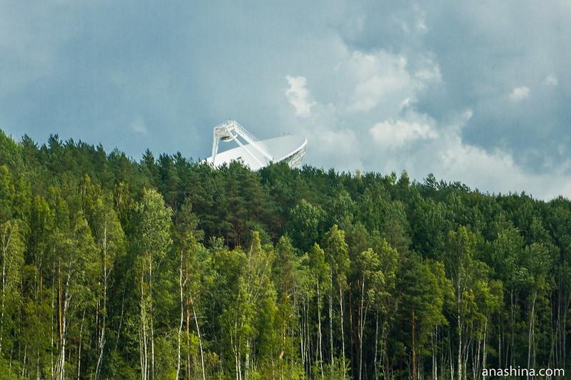 Радиоастрономическая обсерватория «Светлое», Карельский перешеек