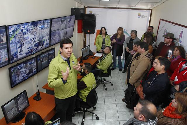 Inauguración Central de Televigilancia Preventiva