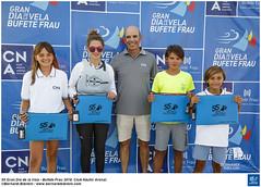 55 Gran Día de la Vela BUFETE FRAU 2018 · Entrega de trofeos