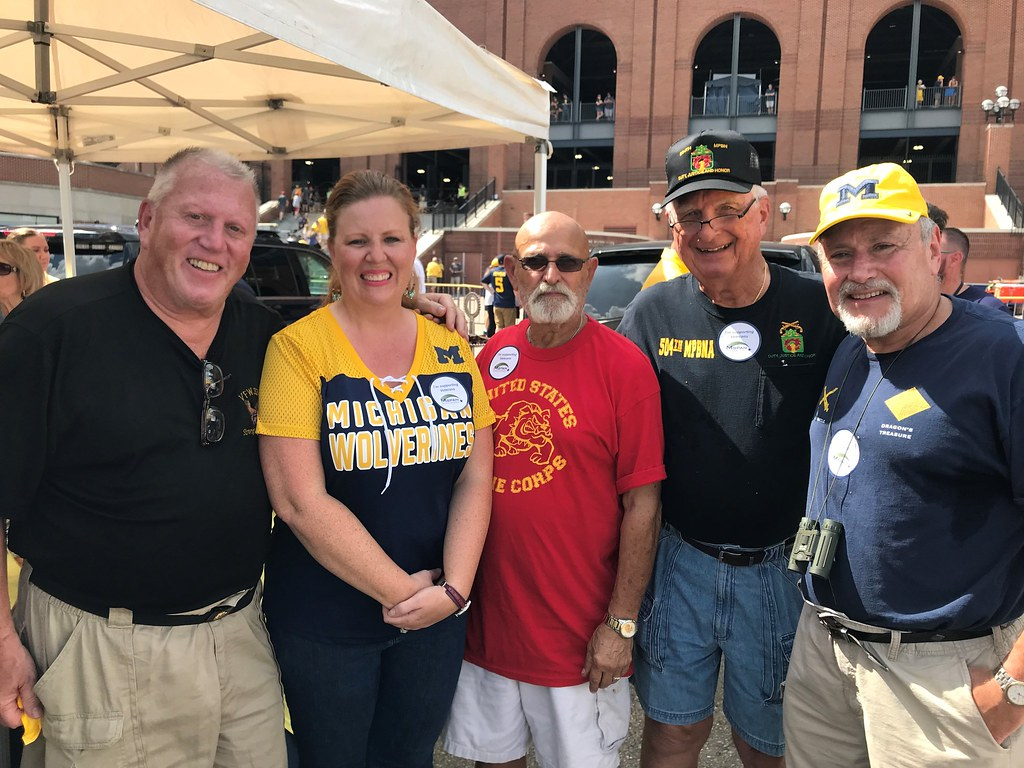 2018 M-SPAN Tailgate at UM Football Military Appreciation Game