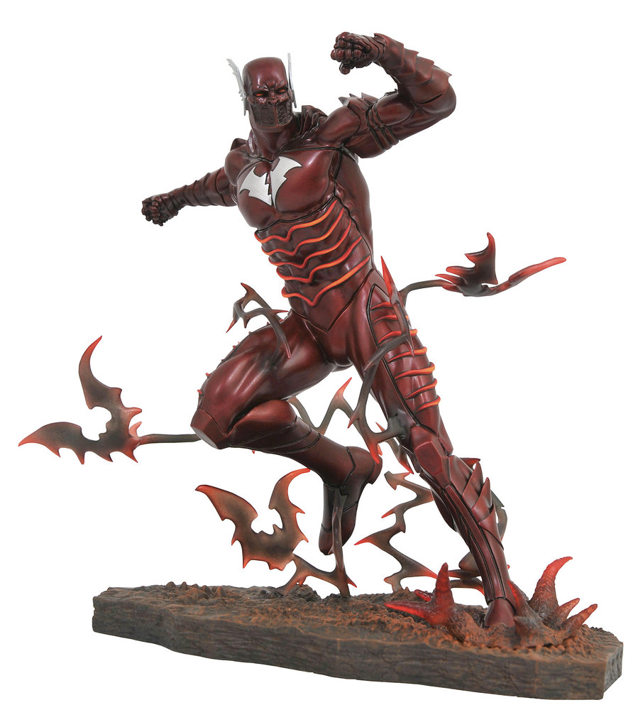 Diamond Select Toys《Dark Nights: Metal》蝙蝠俠-紅色死神 Batman The Red Death 全身雕像作品