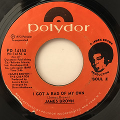 JAMES BROWN:I GOT A BAG OF MY OWN(LABEL SIDE-A)