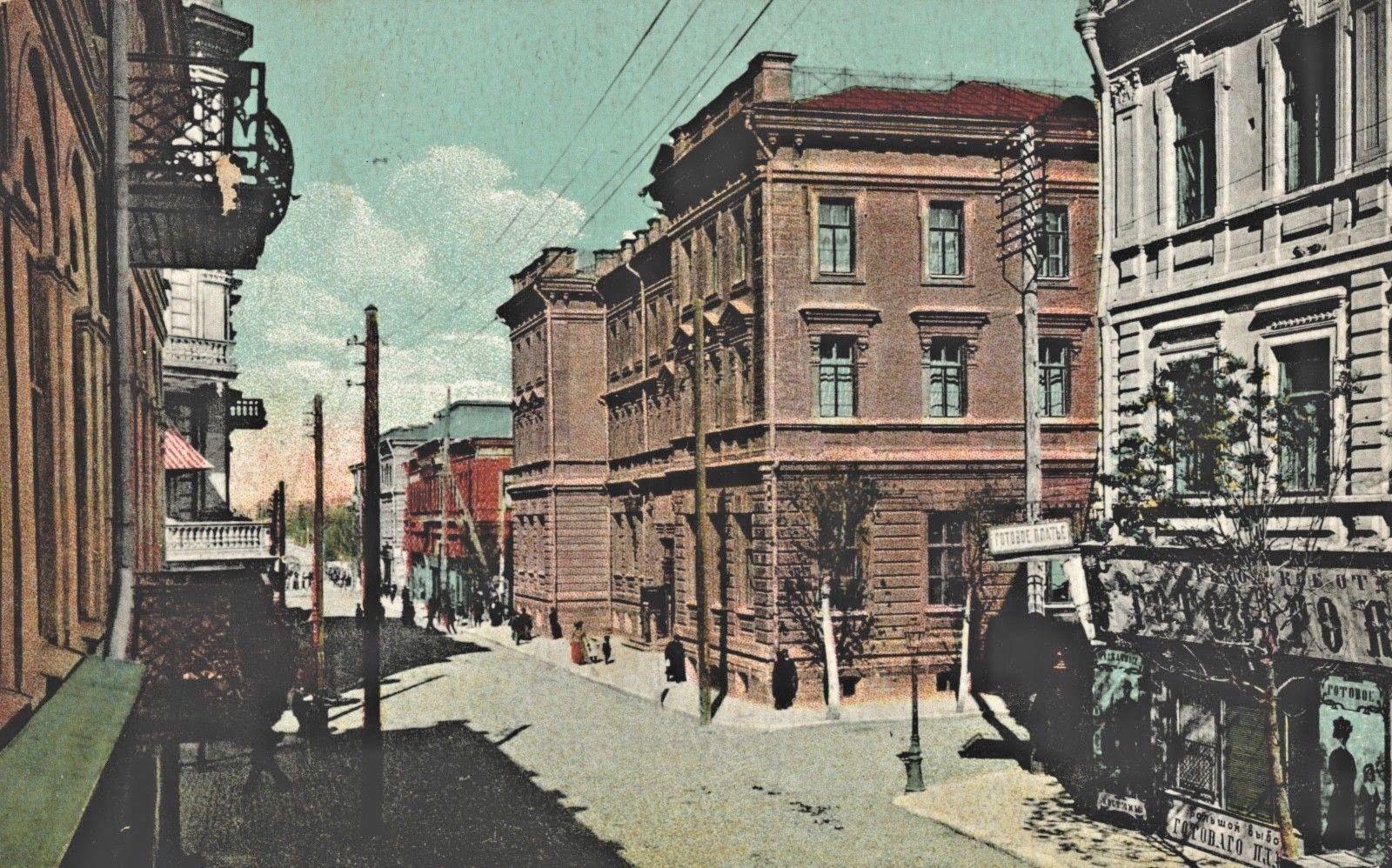 Соборный переулок, здание почты