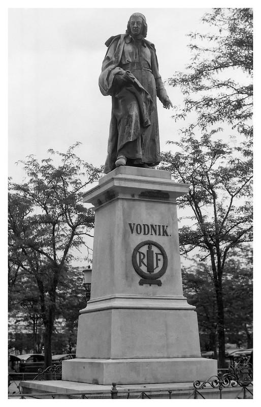 Ljublijana  statue