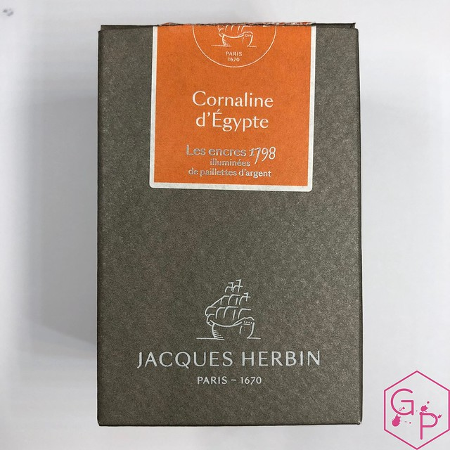 Jacques Herbin Cornaline d'Égypte Ink Review @Exaclair 1