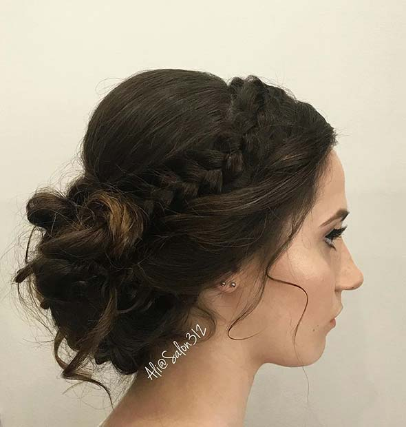 Best NYE Updo Ideas 2019 For Women- Awesome Hairstyles 9