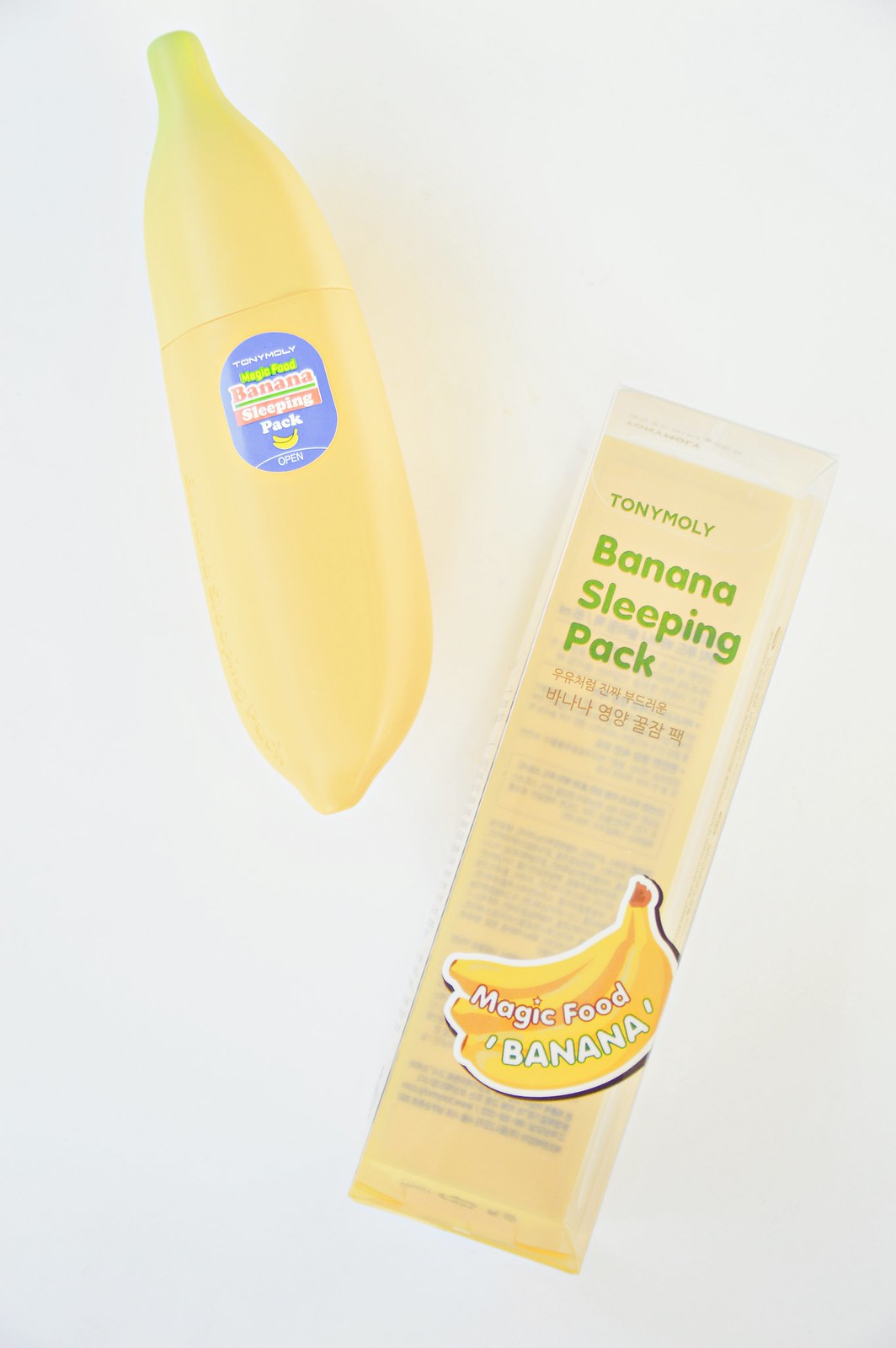 TonyMoly Banana Sleeping Pack nightmask