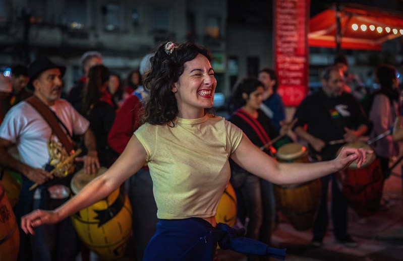 Dancing in the streets, Buenos Aires