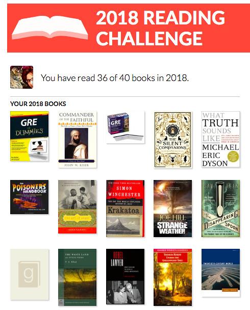 Reading Challenge (AUG)